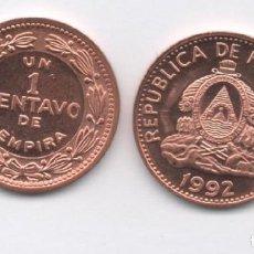 Monedas antiguas de América: HONDURAS - 1 CENTAVO 1992. Lote 199318310