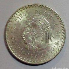 Monedas antiguas de América: MEXICO 1947, 5 PESOS, EN PLATA DE 900/000. LOTE 2524. Lote 199640653