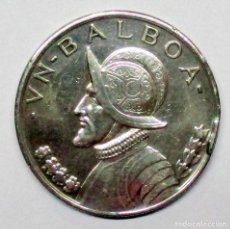 Monedas antiguas de América: PANAMA, 1931. MONEDA DE PLATA DE UN BALBOA. LOTE 2528. Lote 199649535