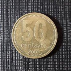 Monedas antiguas de América: ARGENTINA 50 CENTAVOS 2009 KM111.2 9 ABIERTO. Lote 199953326