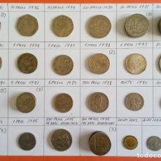 Monedas antiguas de América: LOTE DE 43 MONEDAS DE LOS ESTADOS UNIDOS MEXICANOS. Lote 200768620