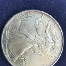 Monedas antiguas de América: INVERSION ONZA PLATA PURA ESTADOS UNIDOS EAGLE 1991. Lote 201521103