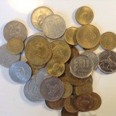 Monedas antiguas de América: ARGENTINA LOTE 40 MONEDAS SURTIDAS MUCHAS DIFERENTES. Lote 201621463