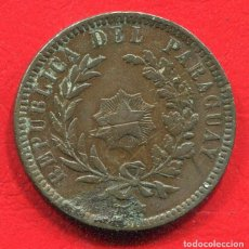 Monedas antiguas de América: PARAGUAY - 2 CENTAVOS 1870. Lote 201646510