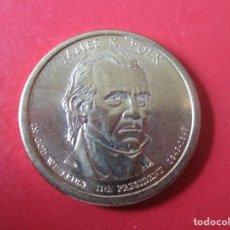 Monnaies anciennes d'Amérique: USA 1 DOLAR 2009 P. JAMES K. POLK. Lote 202352913