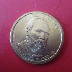 Monnaies anciennes d'Amérique: USA 1 DOLAR 2011 D. JAMES GARFIELD. Lote 202359582