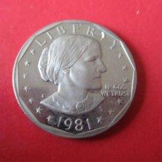 Monnaies anciennes d'Amérique: USA 1 DOLAR 1981 S PROOF. Lote 202440138