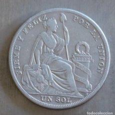 Monedas antiguas de América: SOL DE PLATA 1926 PERU. Lote 148659586