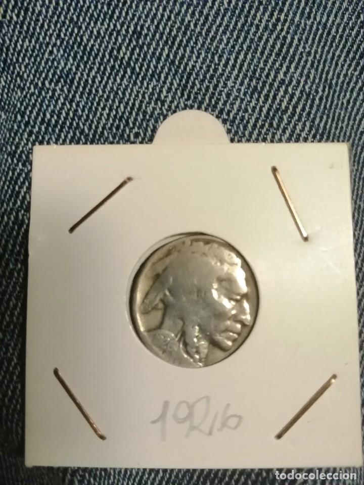 Monedas antiguas de América: Moneda five ct usa 1926, indio, búfalo - Foto 2 - 202716553