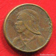 Monedas antiguas de América: PANAMA 1 CENTESIMO DE BALBOA 1937. Lote 202842856