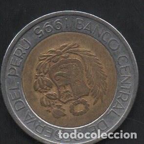 PERÚ, 5 SOLES 1995, BC (Numismática - Extranjeras - América)