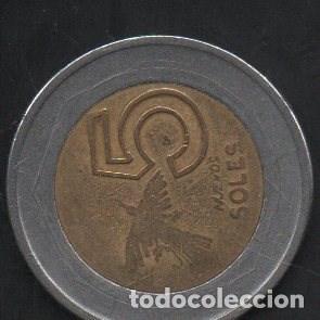 Monedas antiguas de América: PERÚ, 5 SOLES 1995, BC - Foto 2 - 203013542