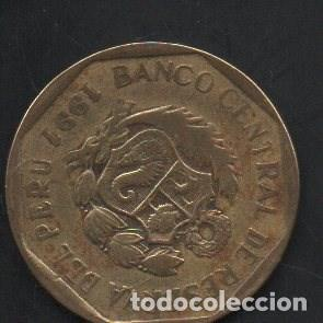 Monedas antiguas de América: PERÚ, 20 CENTAVOS 1991, BC - Foto 2 - 203013570