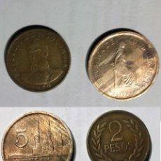 Monedas antiguas de América: COLOMBIA 2 MONEDAS. Lote 203108638