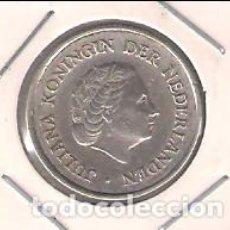 Monedas antiguas de América: MONEDA DE 1/4 GULDEN DE ANTILLAS HOLANDESAS DE 1954. PLATA. MBC (ME960). Lote 203352117