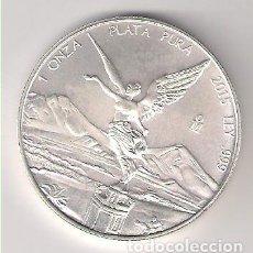 Monedas antiguas de América: MONEDA DE 1 ONZA DE MÉJICO DE 2015. PLATA. SIN CIRCULAR. (ME72). Lote 203895558