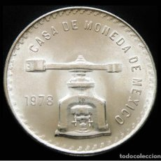 Monedas antiguas de América: MEXICO 1 ONZA TROY 1978. PLATA 0,925. SIN CIRCULAR. ESCASA. Lote 203913803