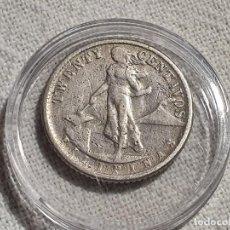 Monedas antiguas de América: USA - FILIPINAS - 20 TWENTY CENTAVOS 1944 - PLATA 750. Lote 204232943