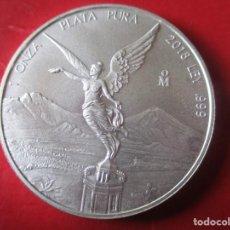 Monedas antiguas de América: MEXICO ONZA DE PLATA PURA 2018 SIN CIRCULAR. Lote 204331197
