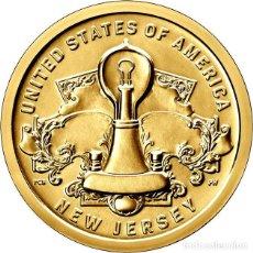 Moedas antigas da América: ESTADOS UNIDOS / USA 1 DOLAR 2019 INNOVADORES AMERICANOS ( INVENCIÓN DE LA BOMBILLA ) D. Lote 223552942