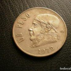 Monnaies anciennes d'Amérique: MEXICO 1 PESO 1972. Lote 204705425