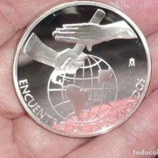 Monedas antiguas de América: MEDALLA PLATA 2007 DE LA VII SERIE IBEROAMERICANA PROOF. Lote 204981007