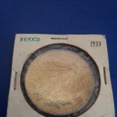 Monedas antiguas de América: MONEDA ESTADOS UNIDOS MEXICANOS 1933 1 PESO PLATA. Lote 204991456
