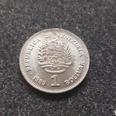 Monedas antiguas de América: 1 BOLIVAR 1989 - VENEZUELA. Lote 205016788