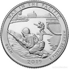 Monedas antiguas de América: ESTADOS UNIDOS / USA ¼ QUARTER DOLLAR 2019 WAR IN THE PACIFIC ( GUAM ) D. Lote 222900563