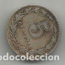 Monedas antiguas de América: MONEDA DE ARGENTINA 5 CENTAVOS 1921. Lote 205520992