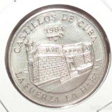Monedas antiguas de América: CUBA : 1 PESO 1984 ( LA FUERZA-LA HABANA ). Lote 205539005