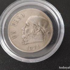 Monedas antiguas de América: MEXICO - 1 PESO 1971 MO ESTADOS UNIDOS MEXICANOS.. Lote 205551771