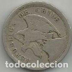 Monedas antiguas de América: MONEDA DE CHILE 20 CENTAVOS 1921. Lote 205579710