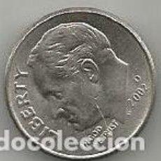 Monedas antiguas de América: MONEDA DE USA 1 DIME 2002D. Lote 205582198