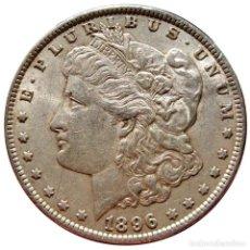 Monedas antiguas de América: ESTADOS UNIDOS - DOLAR MORGAN 1896 - FILADELFIA (5823). Lote 205679740