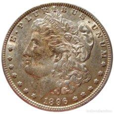 Monedas antiguas de América: ESTADOS UNIDOS - DOLAR MORGAN 1896 - FILADELFIA (5824). Lote 205679867