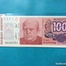 Monedas antiguas de América: X-2095 )ARGENTINA,,100 AUSTRALES 1985-90 NUEVO SIN CIRCULAR. Lote 205681817