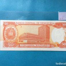 Monedas antiguas de América: X-2100 ) VENEZUELA,,50 BOLÍVARES,,05-06-1995,,SERIE T8 NUEVO SIN CIRCULAR. Lote 205684343