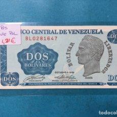 Monedas antiguas de América: X-2103 ) VENEZUELA,,2 BOLIVARES 1989,,SERIE B,L, EN ESTADO NUEVO SIN CIRCULAR. Lote 205689603
