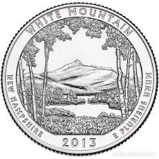 Monedas antiguas de América: 2013 QUARTER PARK WHITE MOUNTAIN (NEW HAMPHSIRE). Lote 205689960