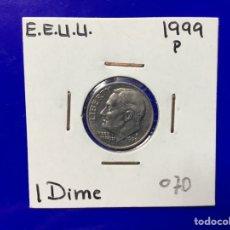Monedas antiguas de América: X-1813 )EEUU,,10 CENT, 1999,,P,, EN ESTADO COMO NUEVO,,. Lote 205691373