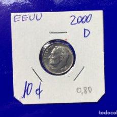 Monedas antiguas de América: X-1815 )EEUU,,10 CENT, 2000,,D,, EN ESTADO NUEVO. Lote 205692111