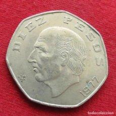 Monnaies anciennes d'Amérique: MEXICO 10 PESOS 1977 AZ-4-20. Lote 205721771