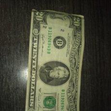 Monedas antiguas de América: 20 DOLARES.1981. Lote 206336307