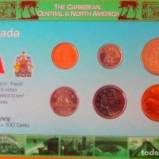 Monedas antiguas de América: CANADA, SET DE MONEDAS.. Lote 206392258