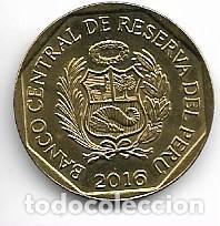 PERU,20 CENTIMOS 2016. (Numismática - Extranjeras - América)