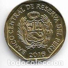 Monedas antiguas de América: PERU,20 CENTIMOS 2016.. Lote 206394537