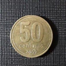 Monedas antiguas de América: ARGENTINA 50 CENTAVOS 2009 KM111.2 9 CERRADO. Lote 206404946