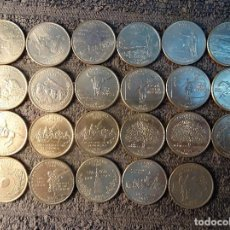 Monedas antiguas de América: ESTADOS UNIDOS - 1/4 CUARTO DOLAR CONMEMORATIVO LOTE 23 MONEDAS. Lote 206419863