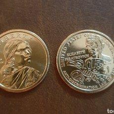 Monedas antiguas de América: ESTADOS UNIDOS USA 1 DOLAR SACAGAWEA INDIA NATIVA 2020 P - CECA P - SC. Lote 234410955
